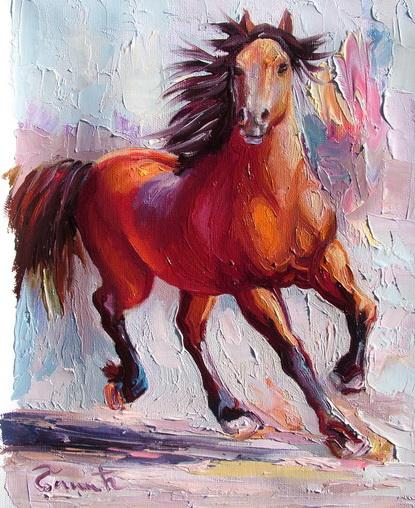 konj u trku