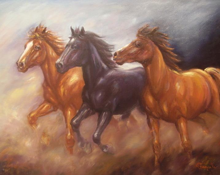 galerija slika konji